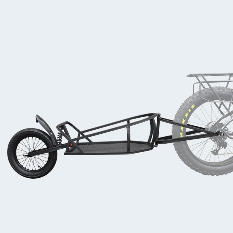Side view of Rambo R182 Single Wheel Bike Trailer