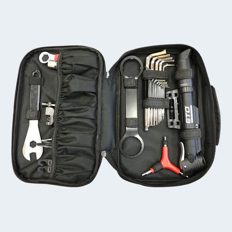 Open view of R115 Portable Tool Kit for Rambo Bikes