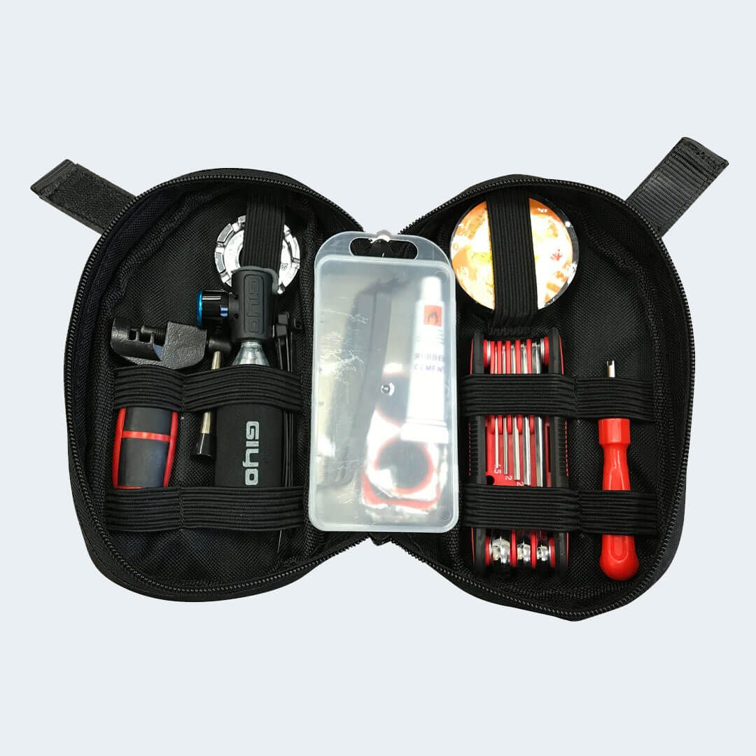 Open view of R116 Portable Tool Kit for Rambo Bikes