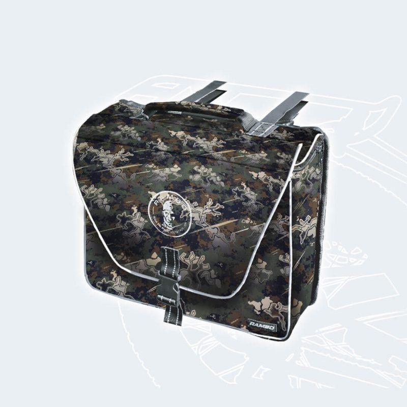 R159 True Timber Viper Woodland Saddle Bag by Rambo Bikes
